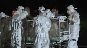 Nurse taken to Rome after positive test for Ebola